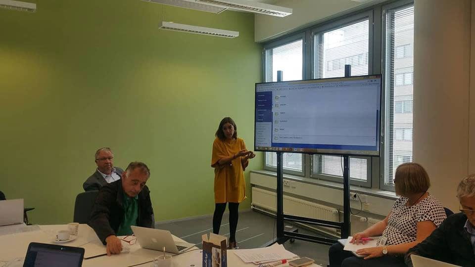 Growmat: 4th Transnational Project Meeting in Helsinki (Finland)